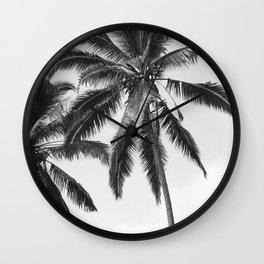 Bali Palm Wall Clock