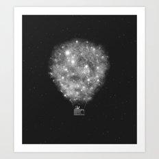 Supernova Sky Ride Art Print