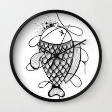 Black Corocoro Wall Clock