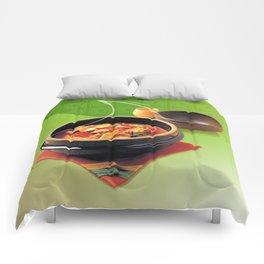 FOOD TABLE NO.10 Comforters