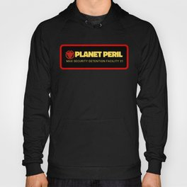 Planet Peril Patch Hoody