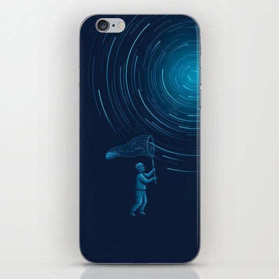 Catch a Star trail iPhone & iPod Skin
