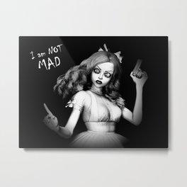 Mad Alice Metal Print