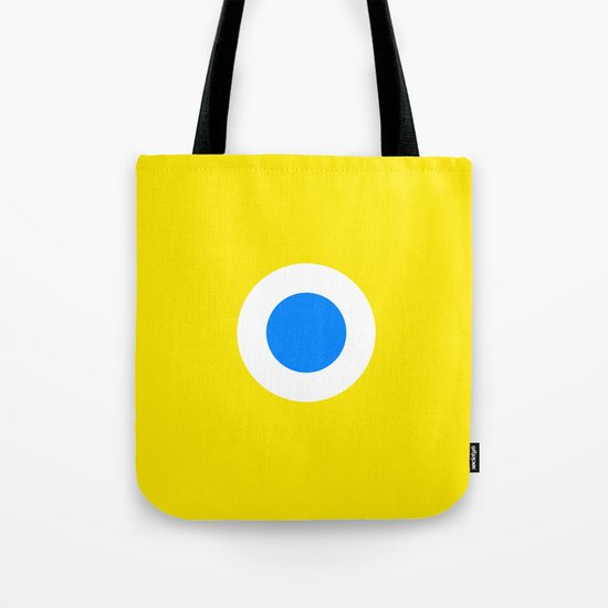 This is the Point, Yellow Pop Art Tote Bag