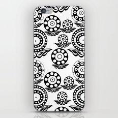 Circular Flower iPhone & iPod Skin