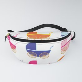 Baby Carriage Fanny Pack