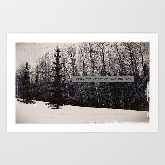 Love & Loss Art Print