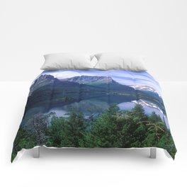 Montana Mountains Comforters