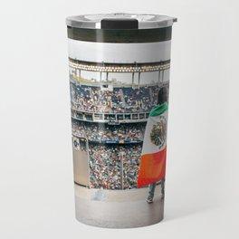 Mexican soccer Travel Mug