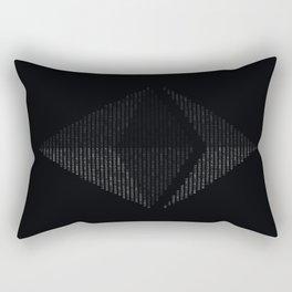 Ethereum Binary Rectangular Pillow
