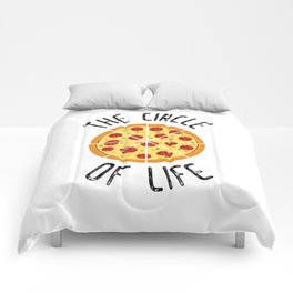 The Circle Of Life Funny Quote Comforters