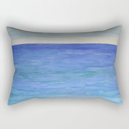 The Deep Blue Beauty Rectangular Pillow