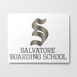 Salvatore boarding school Metal Print