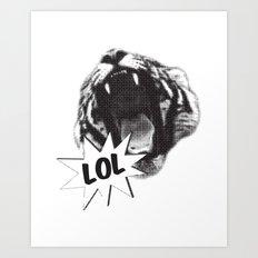 Jozzuv Lol Art Print