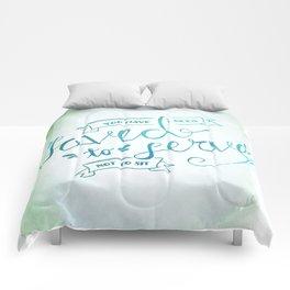 SAVED TO SERVE - COLOR Comforters