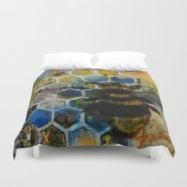 Bee Kind to One Another Duvet Cover