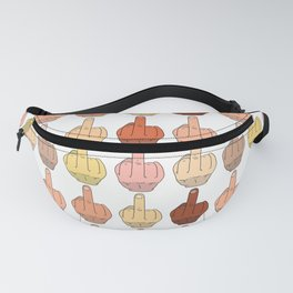 Multicultural Middle Fingers Fanny Pack