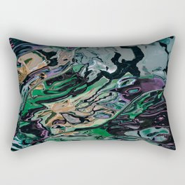 The hulk exploded Rectangular Pillow
