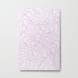 Pastel Pattern I Metal Print
