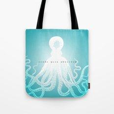 credo Tote Bag