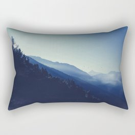 daybreak blues Rectangular Pillow
