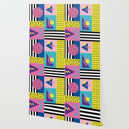 Memphis pattern 53 - 80s / 90s Retro Wallpaper