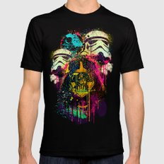 EMPIRE POP LARGE Black Mens Fitted Tee