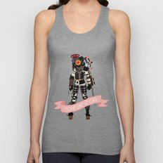 Fight Like a Girl: Big Sister Unisex Tank Top