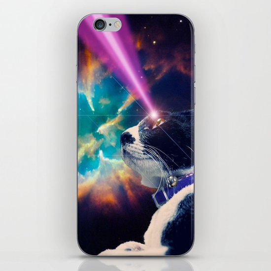 Neko San in Space iPhone & iPod Skin