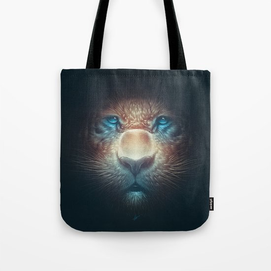 Red Tiger Tote Bag