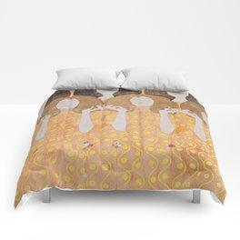 Gustav Klimt - Choir of Angels (Chor Der Paradiesengel) Comforters