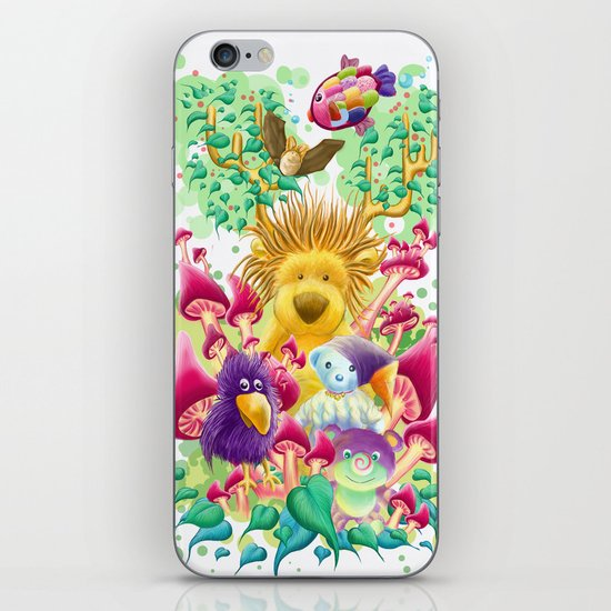 The guardian of nature iPhone & iPod Skin