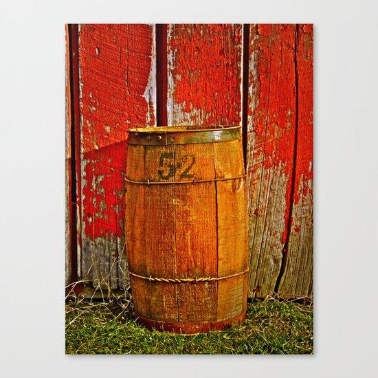 Barrel 52 Canvas Print