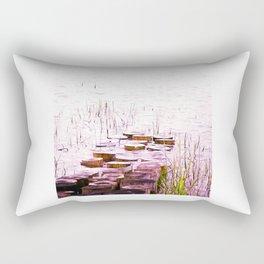 PURPLE WOOD GNOMES Rectangular Pillow