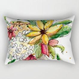 Flowers 1 Rectangular Pillow
