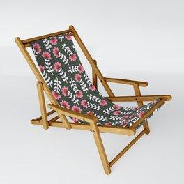 Camelita Retro Folk Flower Sling Chair