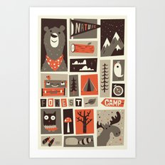 The Great Outdoors Art Print