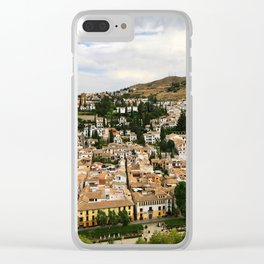 Granada from Above Clear iPhone Case