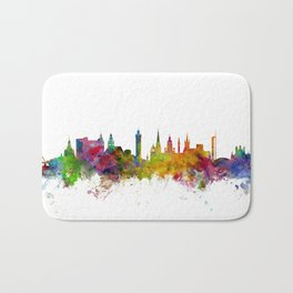 Glasgow Scotland Skyline Cityscape Bath Mat