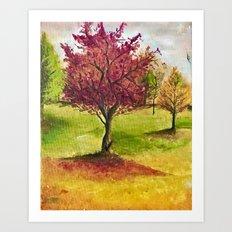 A little tree Art Print