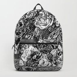 Black and White Delight Backpack