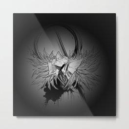 Eileen the Crow (dark) Metal Print