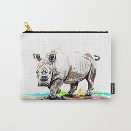 Sudan the last male northern white rhino Carry-All Pouch