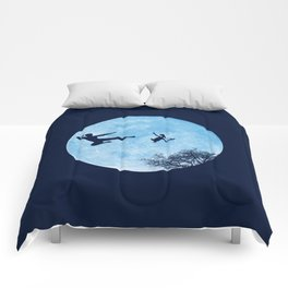 Go Big or Phone Home Comforters