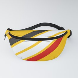 Oldschool Retro Stripes Fanny Pack