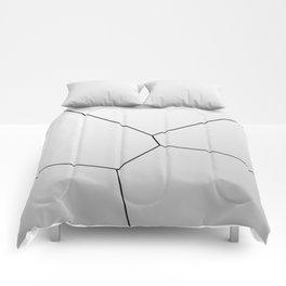 MNML BRKN SLVR Comforters