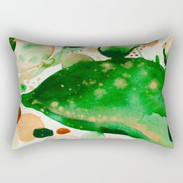 Green Study Rectangular Pillow