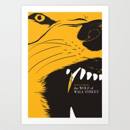 The Wolf of Wall Street | Fan Poster Design Art Print