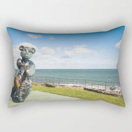 Irish landscape in Greystones Rectangular Pillow
