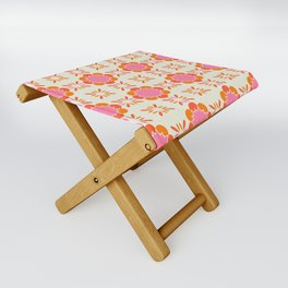 Sixties Tile Folding Stool